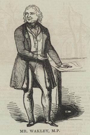 Mr Wakley, MP