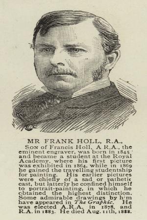 Mr Frank Holl