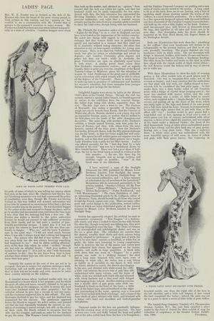 Ladies' Page