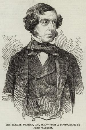 Mr Samuel Warren