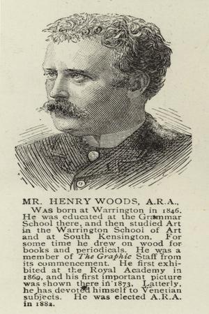 Mr Henry Woods