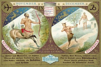 November and December: Sagittarius and Capricorn