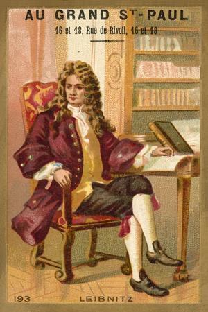 Gottfried Wilhelm Leibniz, German Mathematician and Philosopher
