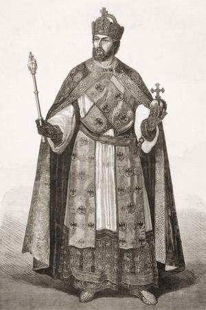 Charles V, Holy Roman Emperor, from 'L'Univers Illustré', 1866