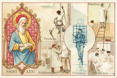 St Luke, Patron Saint of Artists and Doctors