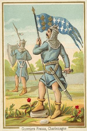 Frankish Warriors of the Time of Charlemagne