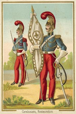 French Carabiniers of the Restoration