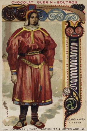 Scandinavian Costume, 12th Century
