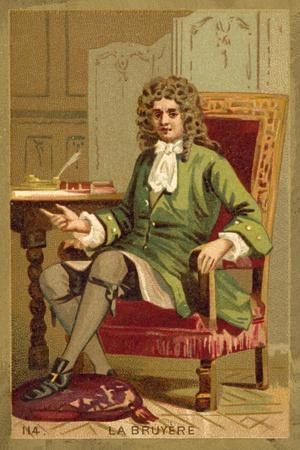 Jean De La Bruyere, French Philosopher
