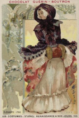 Fashionable Lady, 1750