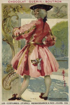 Gentleman, 1715