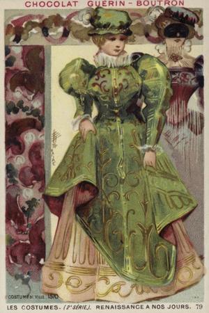 Town Dress, 1570