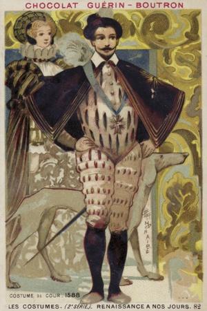 Court Dress, 1588