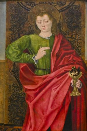 Saint John the Evangelist and the Poisoned Cup, C.1475