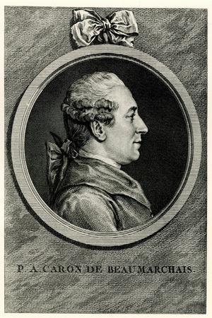 Pierre Augustin Caron De Beaumarchais, 1884-90