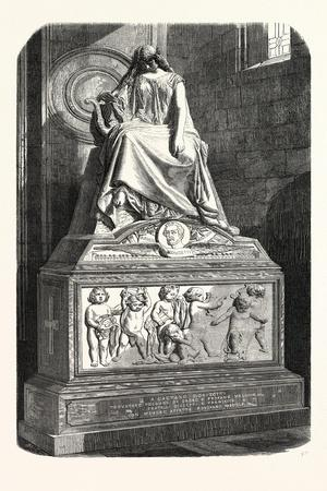 Monument Erected to the Memory of Donizetti. 1855
