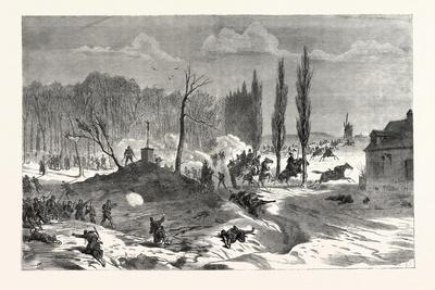 Franco-Prussian War: Battle Near Quesnel, November 23 1870
