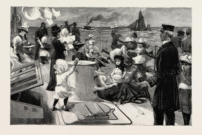 An Invasion of a Man-Of-War: the Naval Manoeuvres: Visiting Day