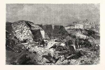 Franco-Prussian War: French Battery Left on Mont-Avron