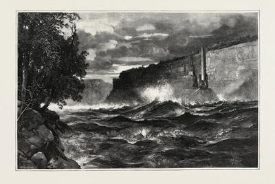 The Whirlpool Rapid, Canada, Nineteenth Century