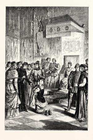 Joan of Arc Recognises Charles Vii. Among His Courtiers
