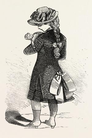 Travelling Costume for Girl of Six, 1882, Fashion