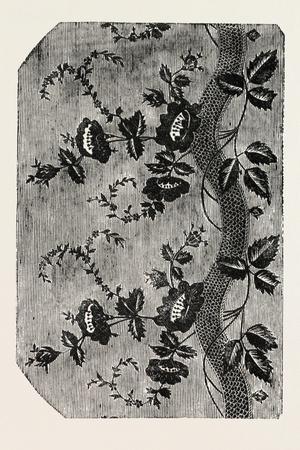 Pattern, Swiss Silk, Canton of Zurich, Switzerland