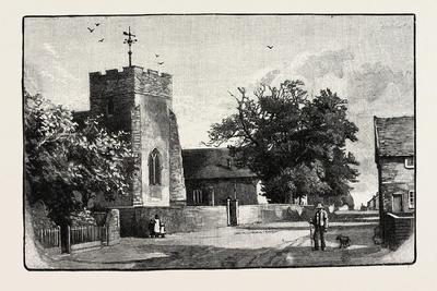 St. Mary's and St. Martin's, Trimley, Looking South
