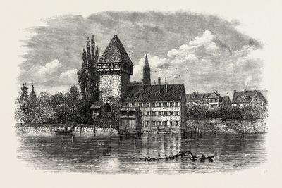 The Rhine at Constance, Switzerland, 19th Century