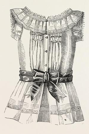 Child's Overall Pinafore, Back, 1882, Fashion