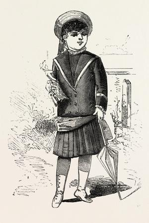 Sailor Costume for Girl of Four, 1882, Fashion