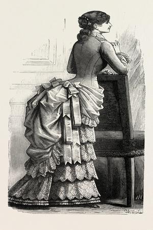 Young Lady's Demi-Toilette Back, Fashion, 1882