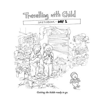 Traveling with Child - Day 1 - Cartoon