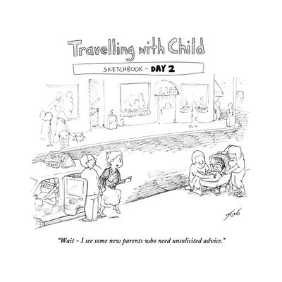 Traveling with Child - Day 2 - Cartoon