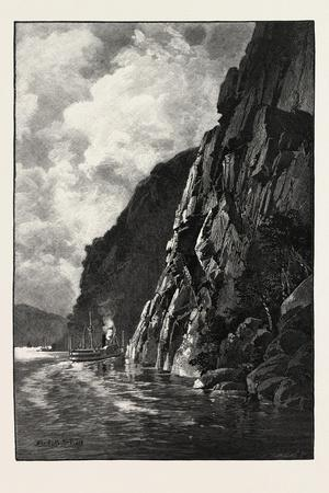 Under Cape Trinity, Canada, Nineteenth Century