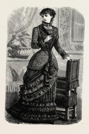 Demi-Evening Toilette, Fashion, 1882
