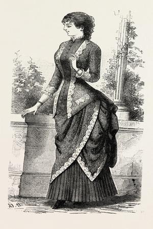 Evening Demi Toilette, Fashion, 1882