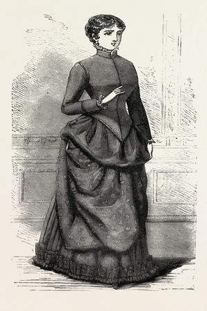 Morning Costume Front, Fashion, 1882