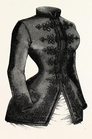 Young Lady's Jacket, Fashion, 1882