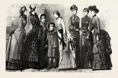 Winter Costumes, Fashion, 1882
