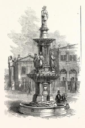 Memorial Fountain to King Alfred