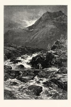 The Stream from Llyn Idwal, UK
