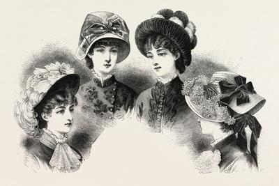 1882 Fashionable Hats, Fashion