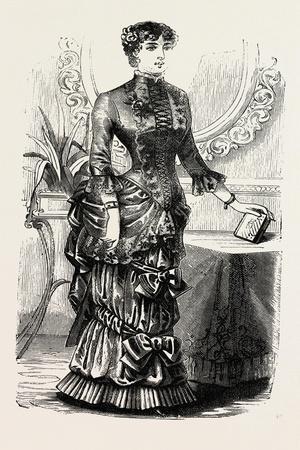Home Dinner Toilette, Fashion, 1882