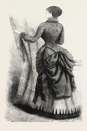 Indoor Toilette Back, Fashion, 1882