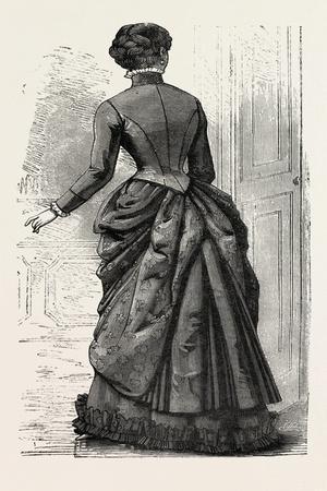 Morning Costume Back, Fashion, 1882