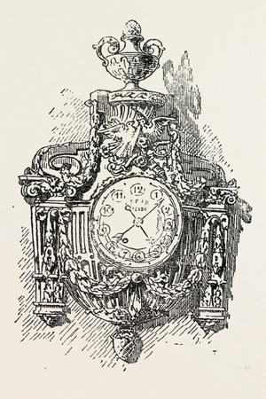 Clock in Ormolu, Furniture, 1882
