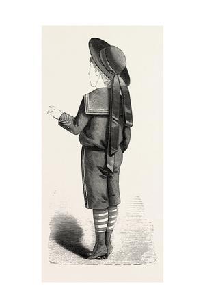 Boy of Four Back, Fashion, 1882