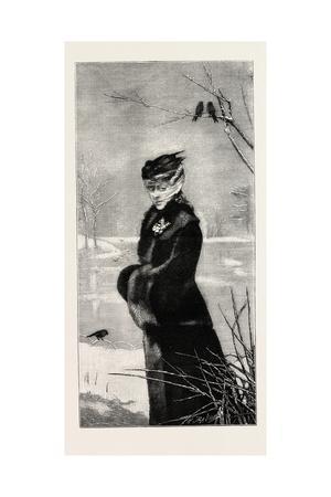 Winter, Fashion, 1882