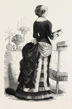 Dinner Dress, Fashion, 1882
